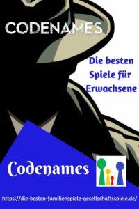 Codenames - die besten Gesllschaftsspiele für Erwachsene