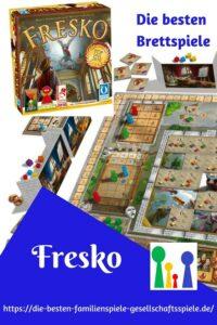 Fresko -die besten Brettspiele und Gesellschaftsspiele