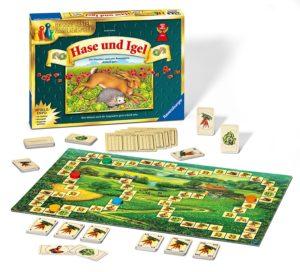 die besten Familienspiele: Hase und Igel