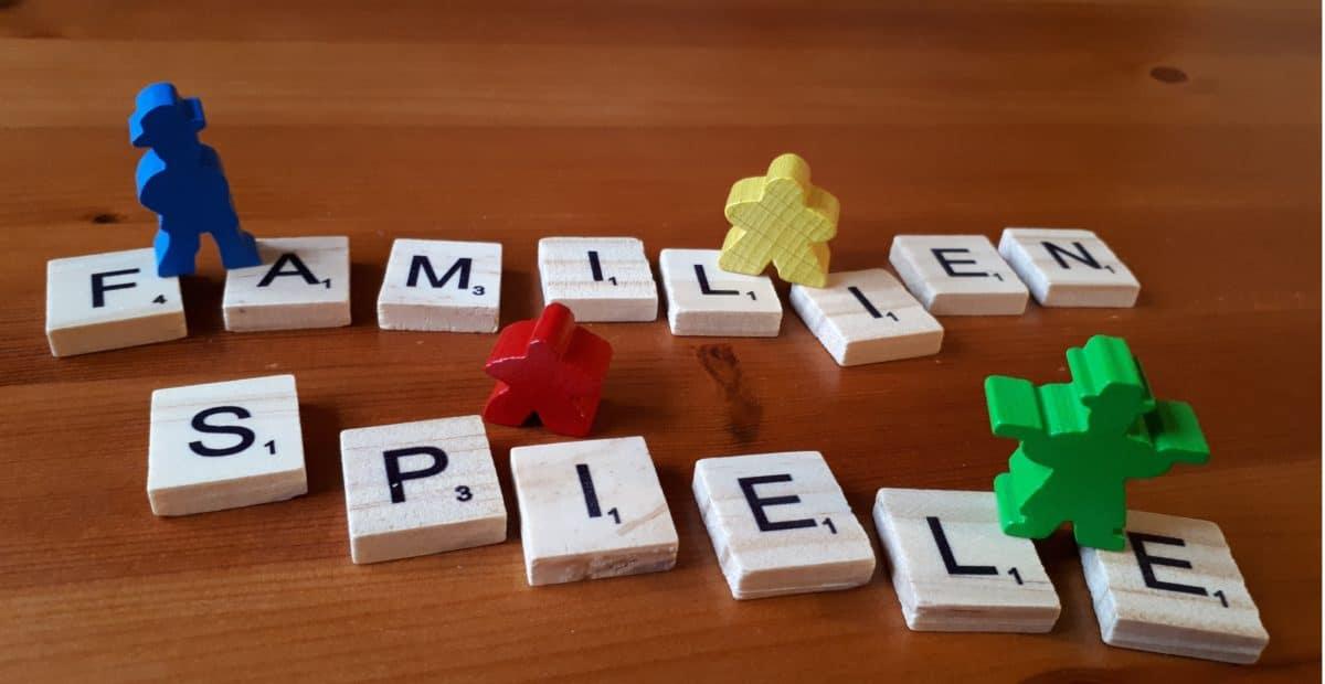 Die besten Familienspiele & Gesellschaftsspiele