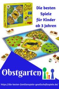Obstgarten -Kinderspiele ab 3 Jahren