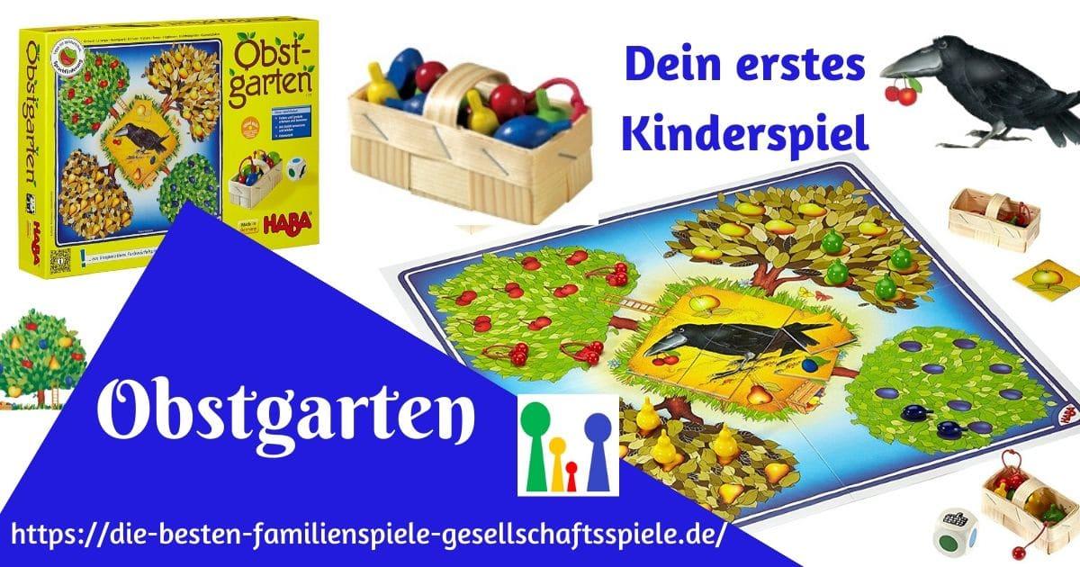 Obstgarten - Dein erstes Kinderspiel