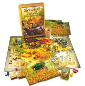 die besten Gesellschaftsspiele : Stoneage -Spielaufbau