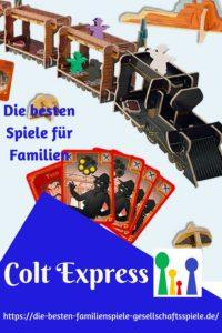 Colt Express - Spiel des Jahres 2015 - die besten Gesellschaftsspiele