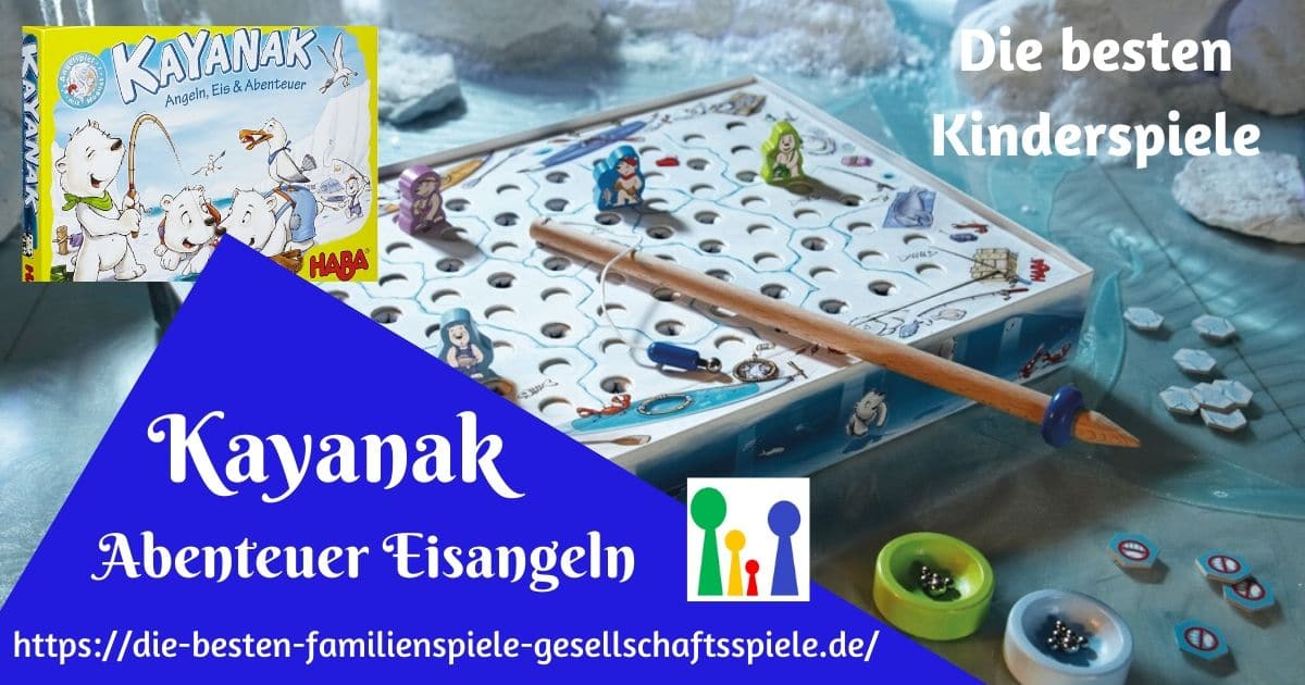 Kayanak - der Kinderspiel Klassiker von HABA