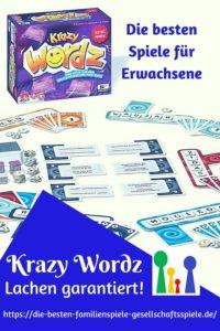 Krazy Wordz - Die besten Partyspiele für Erwachsene und Familien