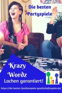 Krazy Wordz - diese lustigesten Partyspiele