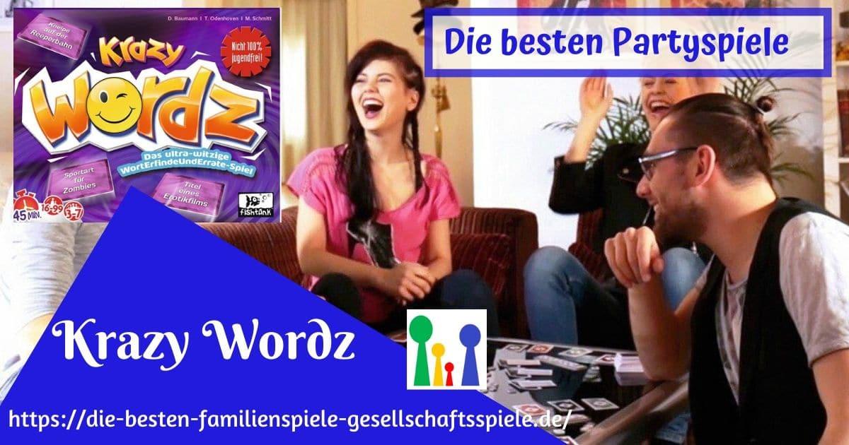 Krazy Wordz -Die besten Partyspiele