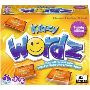 Die besten Familienspiele: Krazy Wordz Family Edition