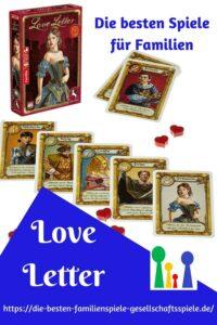 Love Letter -die besten Familiespiele & Kartenspiele