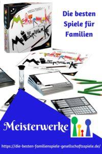 Meisterwerke - die besten Spiele für Familien