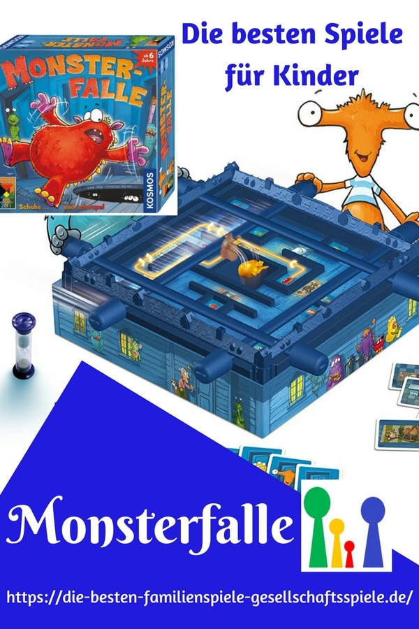 Monsterfalle - die besten Kinderspiele