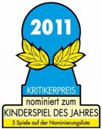 Monterfalle nominiert Kinderspiel des jahres 2011d