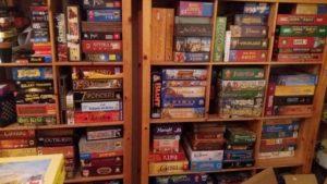 Familienspiele /Geselschaftsspiele - Teile unserer Spielesammlung