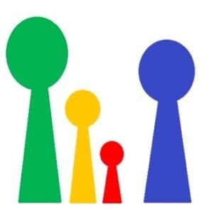 Die besten Familienspiele & Gesellschaftssspiele - Logo