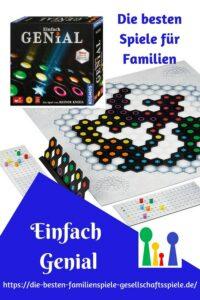 Einfach Genial - die besten Brettspiele für Familien
