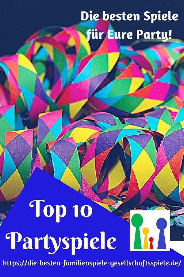 Die Top 10 besten Partyspiele