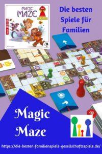 Magic Maze -die besten Brettspiele für Familien und Vielspieler