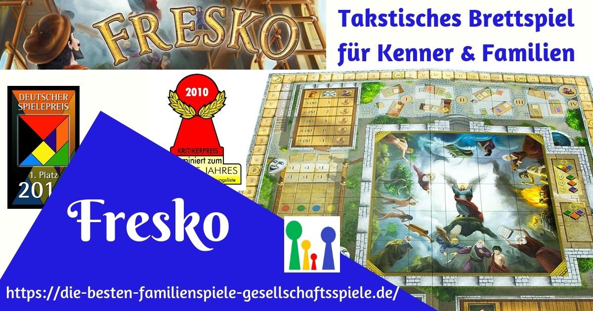 Fresko - taktisches Brettspiel für Familien & Kenner