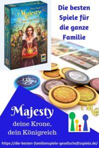 Majesty - die besten Familienspiele & Gesellschaftsspiele