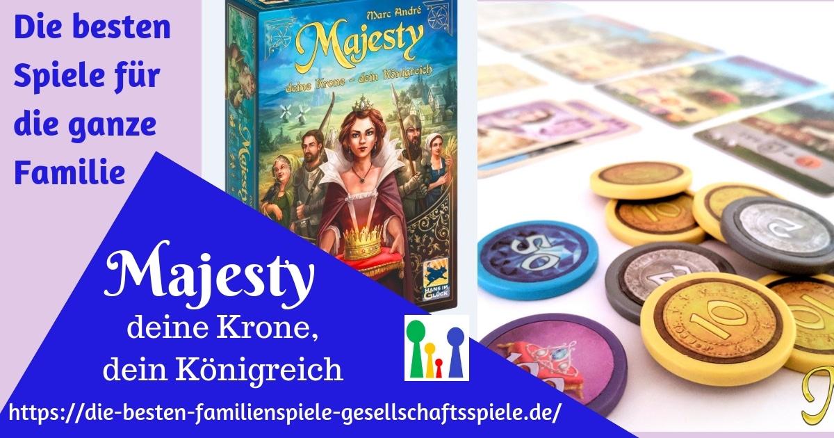 Majesty - die besten Brettspiele für Familient