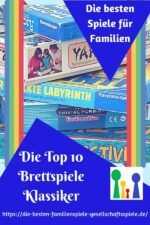 Die TOP 10 Brettspiele Klassiker für Familien