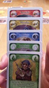 WieVerhext Kartenhand