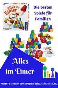 Alles im Eimer - die besten Familienspiele & Gesellschaftsspiele