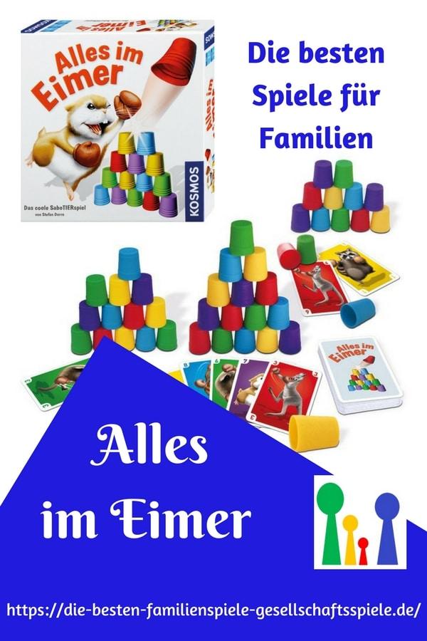 Alles im Eimer -die besten Familienspiele & Gesellschaftsspiele