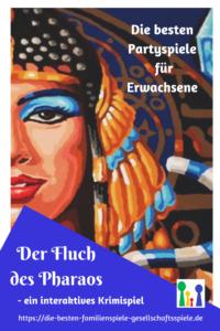 Interaktive Krimispiele & Rollenspiele - Der Fluch des Pharao