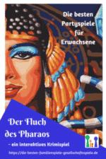 Interaktive Krimidinner & Rollenspiele – Der Fluch des Pharaos