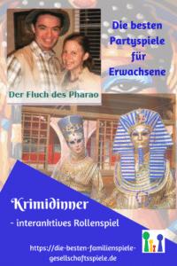 Krimispiele & Rollenspiele - Der Fluch des Pharao