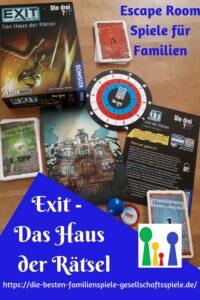 Exit Spiel mit den ??? - Haus der Rätsel - Escape Raum für Anfänger, Einsteiger & Familien