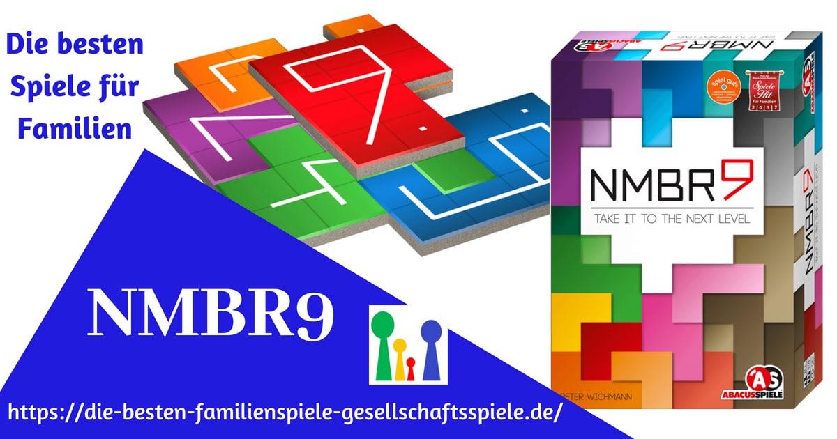 NMBR9 -die besten gesellschaftsspiele für Familien