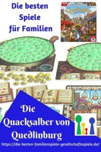 Die Quacksalber von Quedlinburg - Kennerpsiel des Jahres 2018