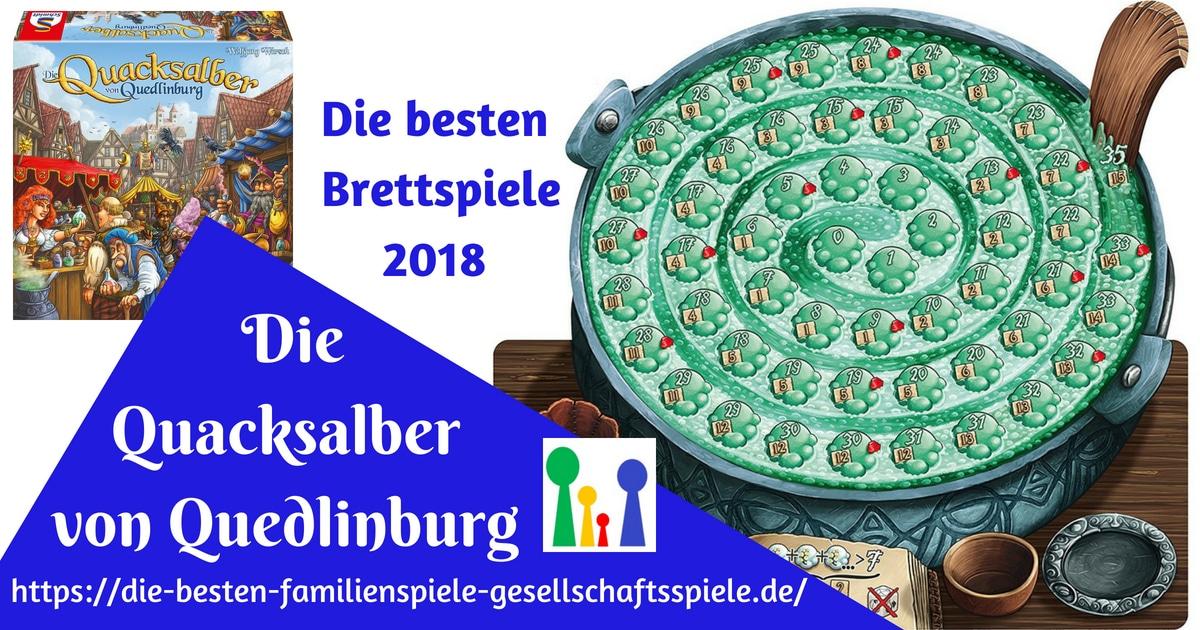 Die Quacksalber von Quedlinburg - Brauen bis der Kessel explodiert!