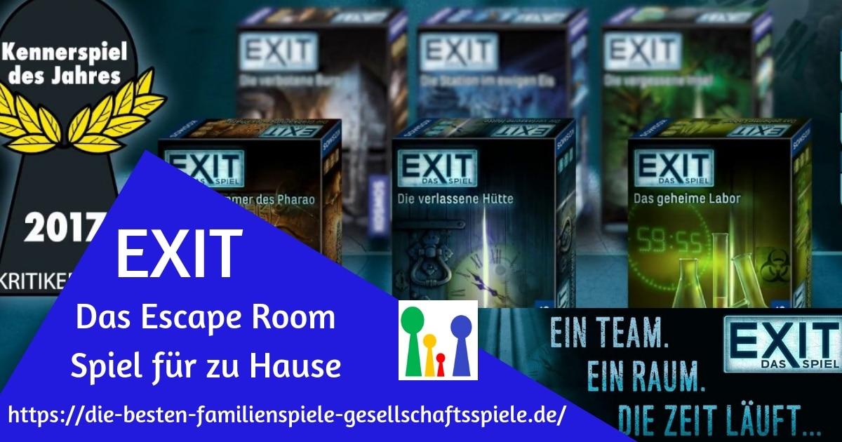 Exit - Escape Room für Zu Hause
