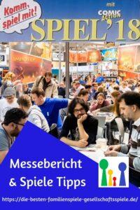 SPIEL'18 - Messebericht und erste Spiele Tipps
