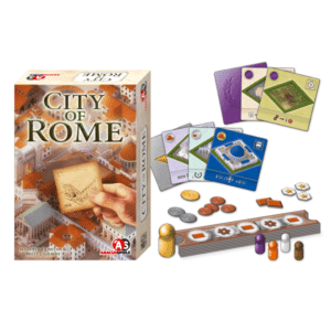 City of Rome - gehobenes Familienspiel ab 10 Jahren
