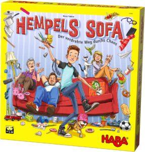 Spiele Neuheiten der Spielwarenmesse 2019 - Hempels Sofa von HABA