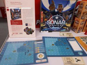 Spiele Neuheiten der Spielwarenmesse 2019 - Captain Sonar Family