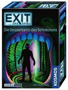 Spiele Neuheiten der Spielwarenmesse 2019 - Exit Die Geisterbahn des Schreckens