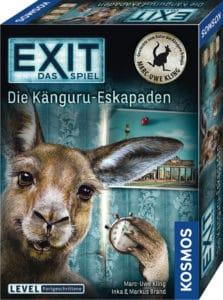 Spiele Neuheiten der Spielwarenmesse 2019 - Exit Känguru Eskapaden