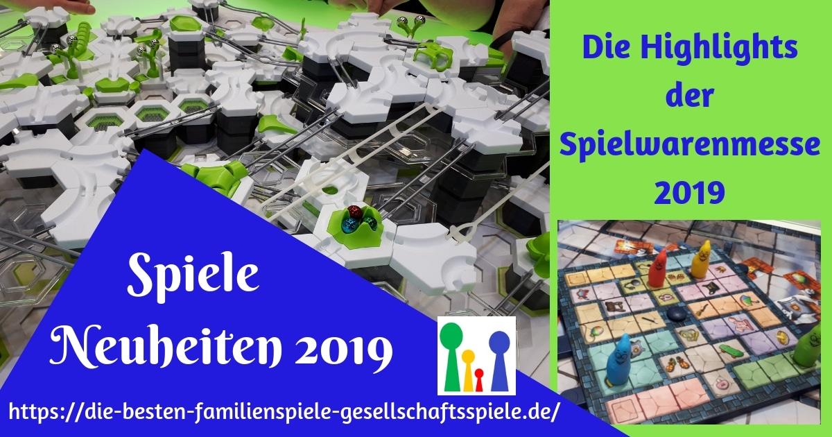 Neuheiten der Spielewarenmesse 2019