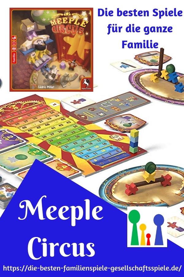 Meeple Cirsus - die lustigsten Familienspiele