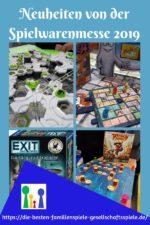 Spiele Neuheiten der Spielwarenmesse 2019