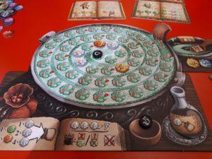 Spiele Neuheiten der Spielwarenmesse 2019 - Die Kräuterhexen für die quacksalber