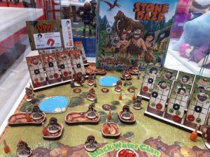 Spiele Neuheiten der Spielwarenmesse 2019 - Stone Daze