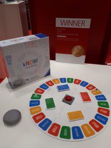 Spiele Trends 2019 - Toy Award für kNOW von Ravensburger