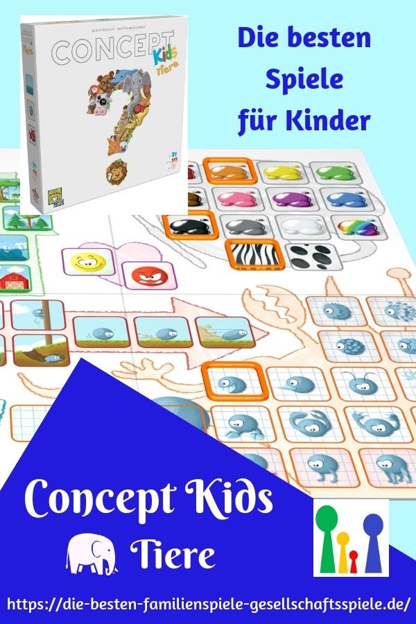 Concept Kids Tiere - die besten Kinderspiele(